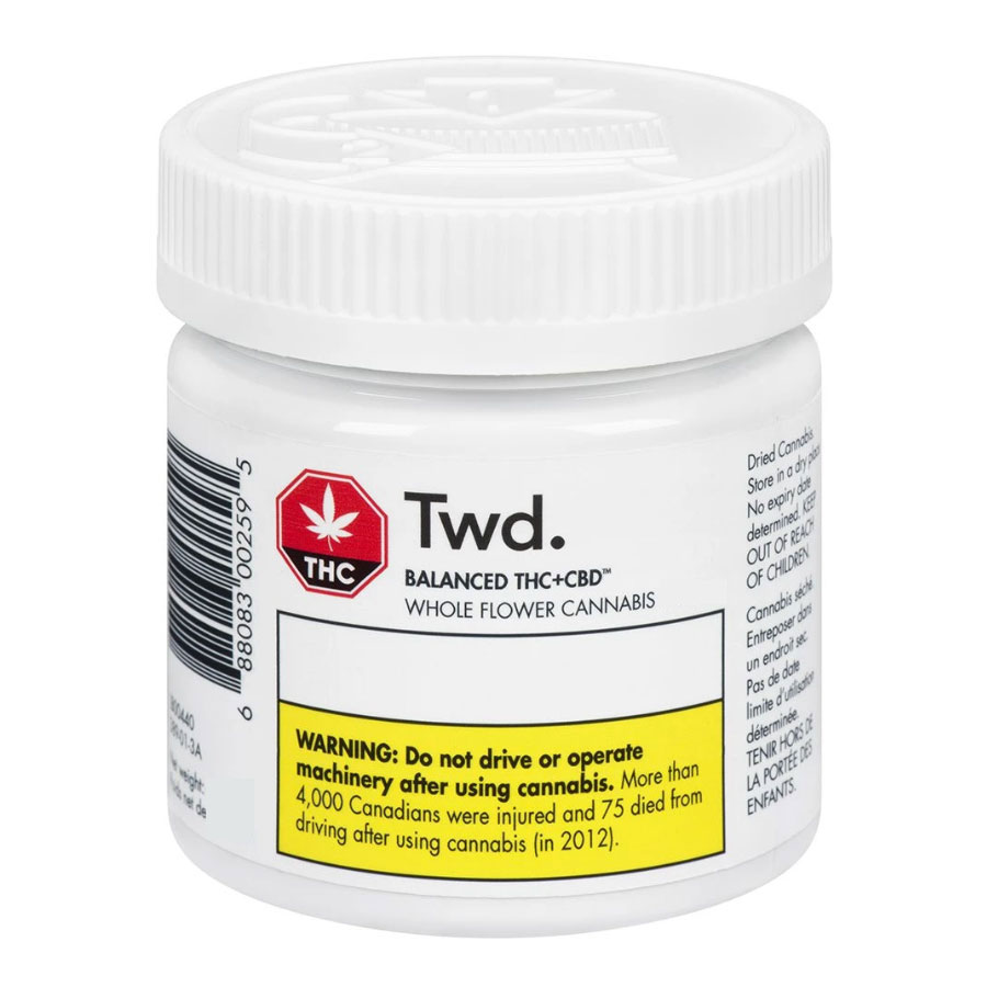 Image for Balanced, cannabis product by TWD.