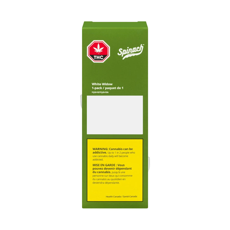 Image for White Widow Pre-Roll, cannabis product by Spinach
