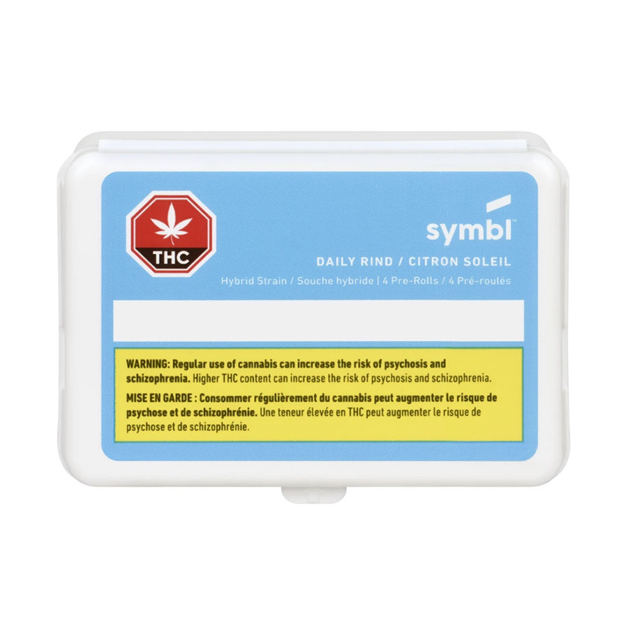 Image for Daily Rind Pre-Roll, cannabis product by Symbl