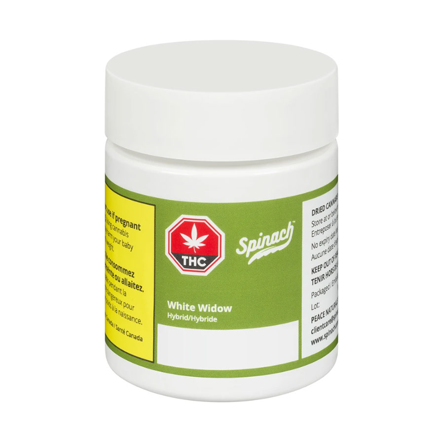Image for White Widow, cannabis product by Spinach