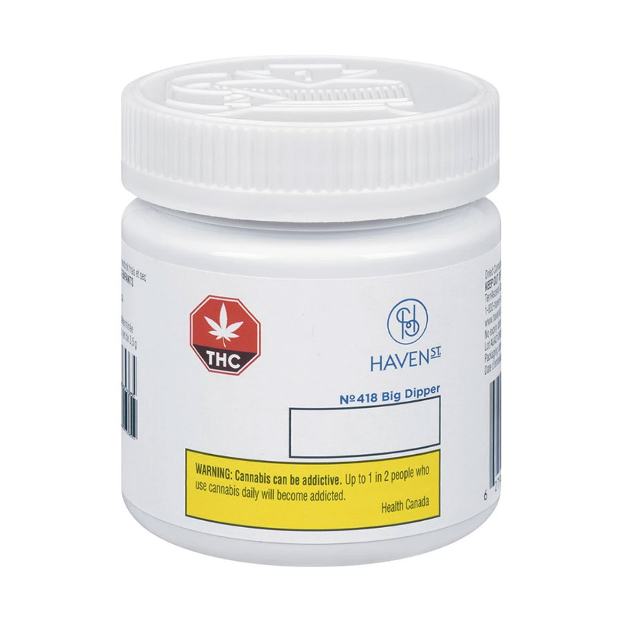 Image for No. 418 Big Dipper, cannabis product by Haven St. Premium Cannabis