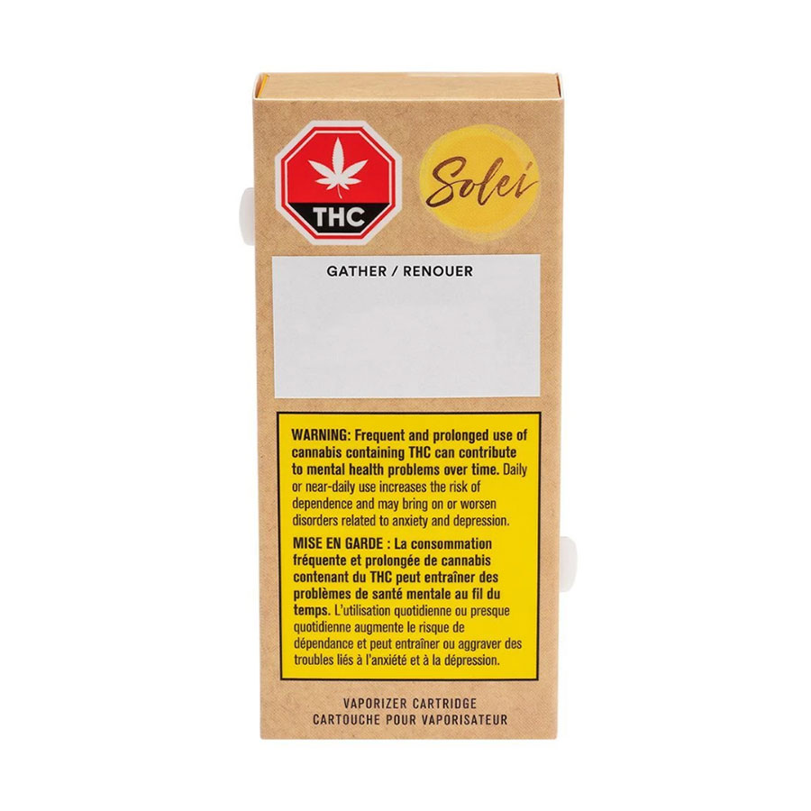 Image for Gather 510 Thread Cartridge, cannabis  by Solei