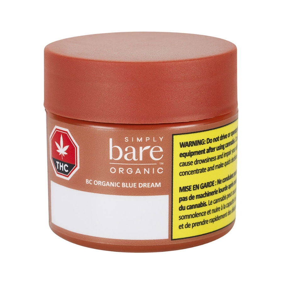 BC Organic Blue Dream (Dried Flower) by Simply Bare