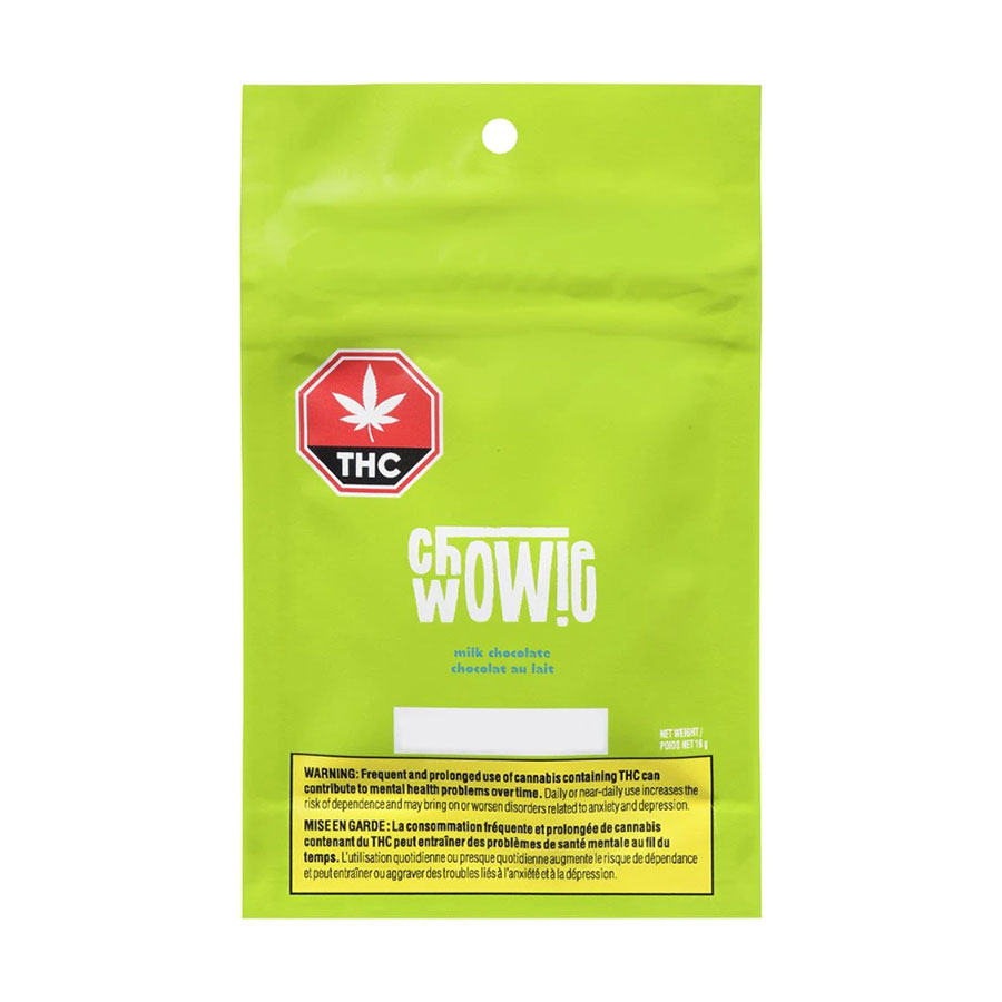 Image for THC Solid Milk Chocolate, cannabis product by Chowie Wowie