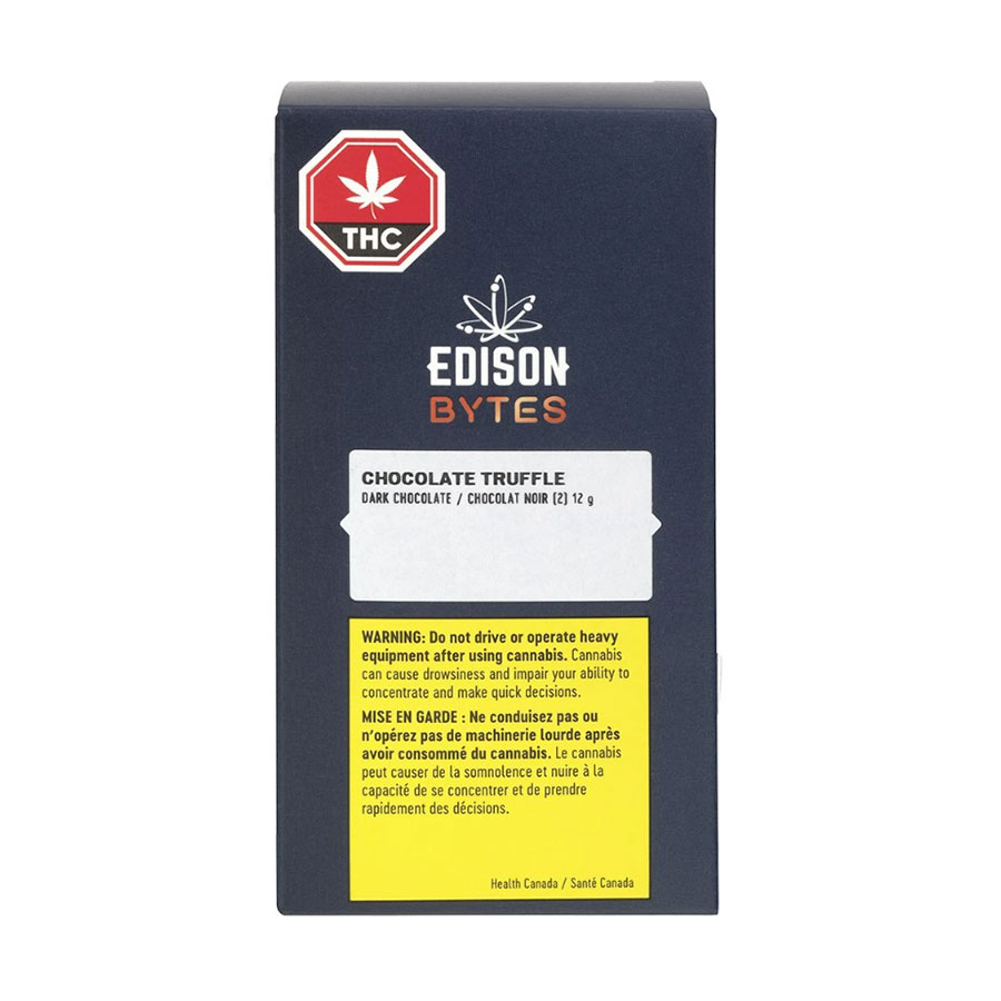 Image for Dark Truffles (2pc), cannabis product by Edison