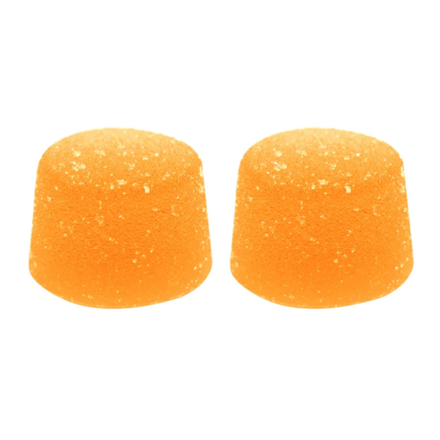 Image for Peach Mango Soft Chews (2pc), cannabis edibles by Foray