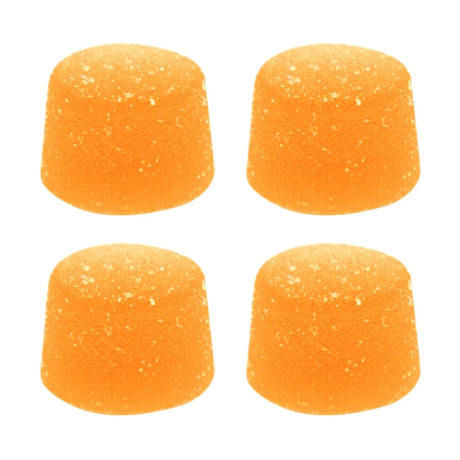 Image for Peach Mango Soft Chews (4pc), cannabis edibles by Foray