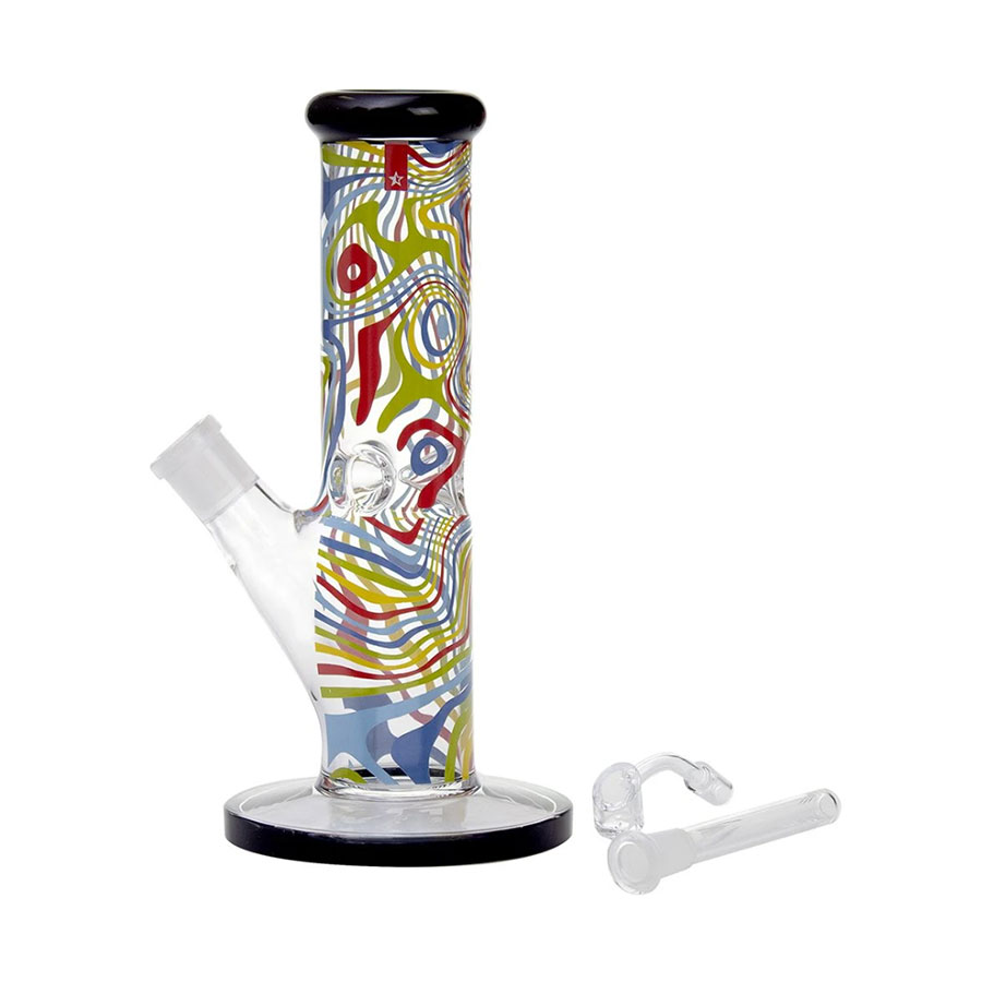 Image for Coloured Water Pipe, cannabis product by Famous Glass
