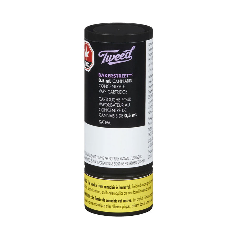 Image for Bakerstreet 510 Thread Cartridge, cannabis product by Tweed