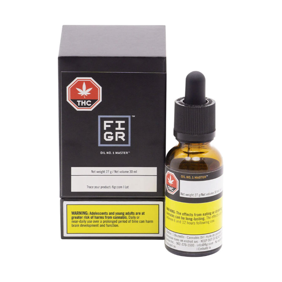Image for Oil No. 1, cannabis product by FIGR