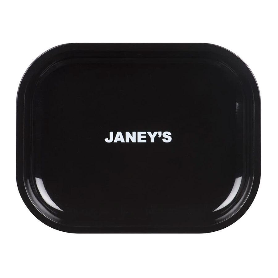 Image for Aluminum Rolling Tray, cannabis  by Janey's