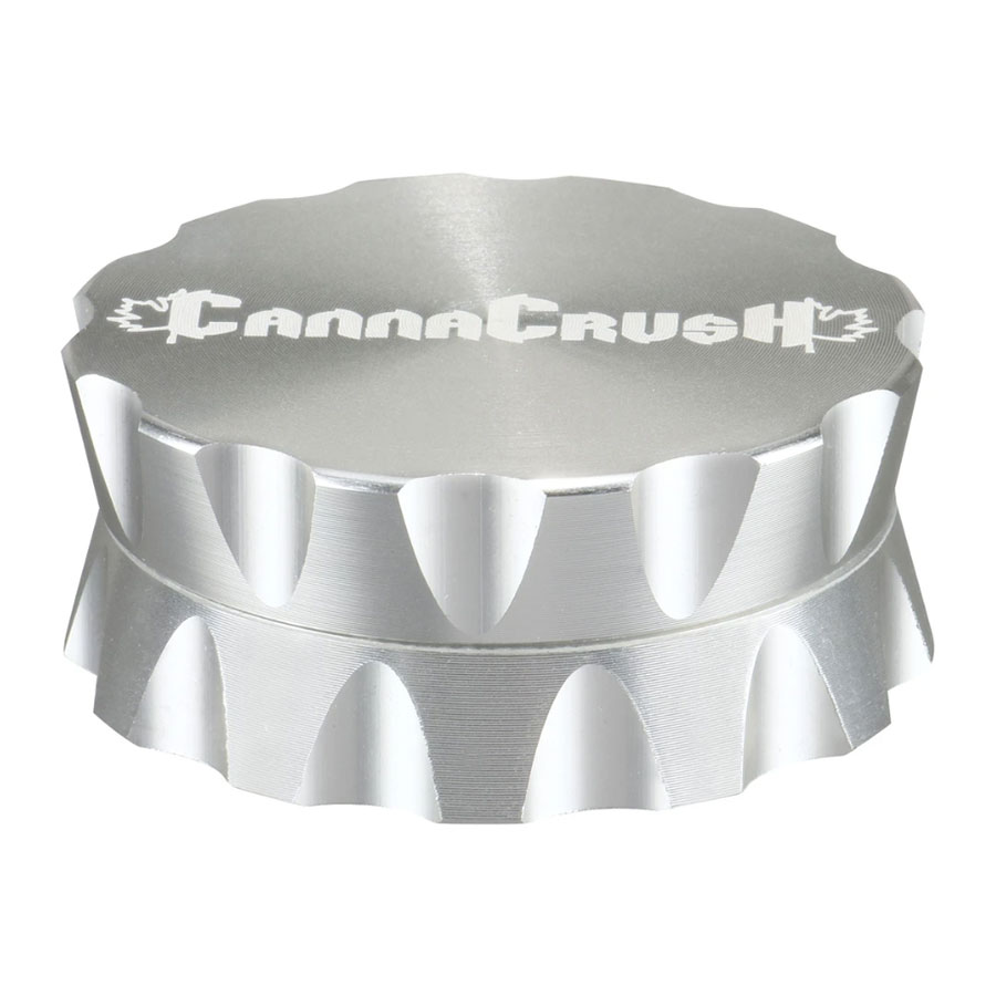 Image for Grooved Grinder 2-pc, cannabis product by CannaCrush