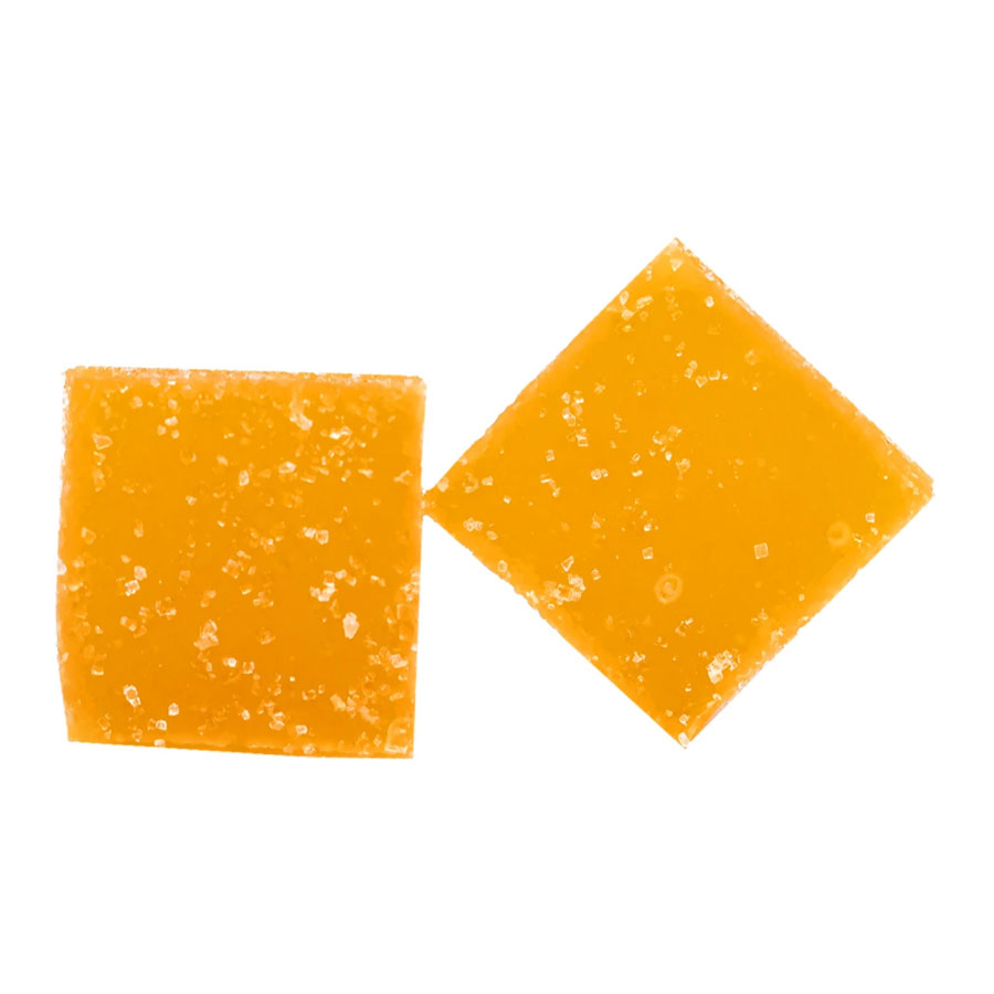 Image for Mango Sour Soft Chews, cannabis edibles by Wana Brands