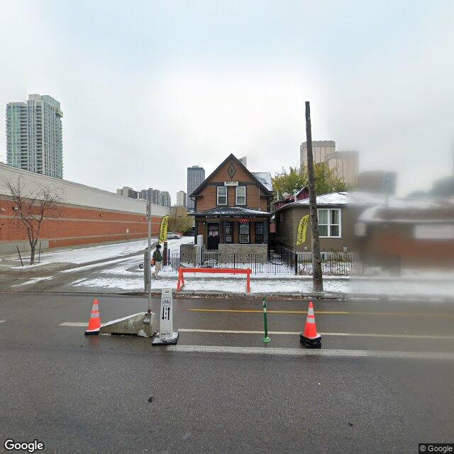 Street view for Beltline Cannabis Calgary, 806 12 Ave. SW, Calgary AB