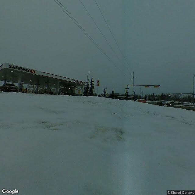 Street view for Co-op Cannabis Crowfoot, 35 Crowfoot Way NW, Calgary AB