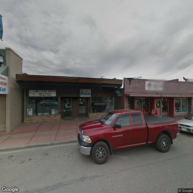 Street view for BC Cannabis Store Vanderhoof, 2444 Burrard Ave, Vanderhoof BC