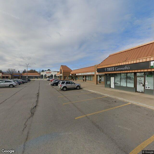 Street view for Corner Cannabis, 395 Ontario St. Suite B2, St. Catharines ON