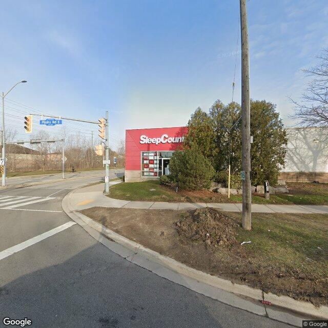 Street view for Friendly Stranger Plains Rd., 1025 Plains Rd. E, Burlington ON