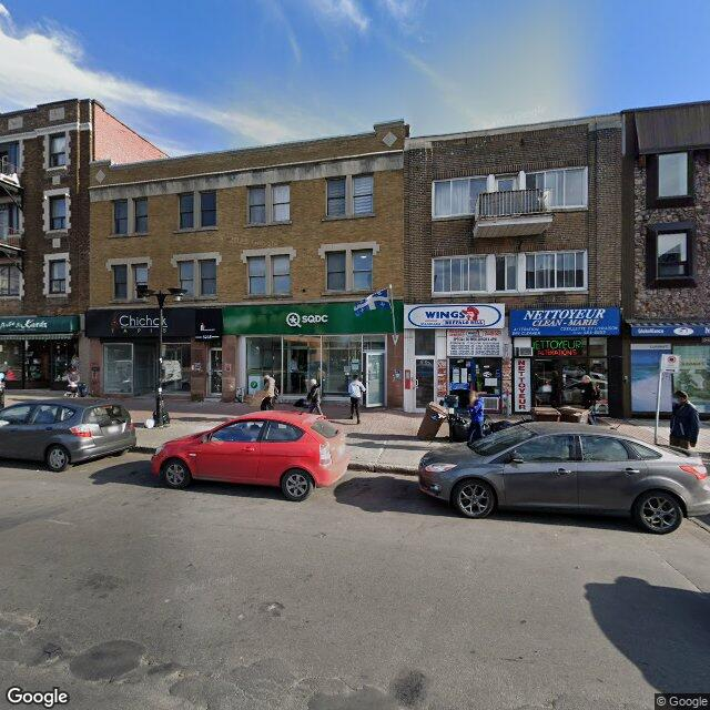 Street view for SQDC Montreal - Metro Snowdon, 5240 chemin Queen Mary, Montreal QC