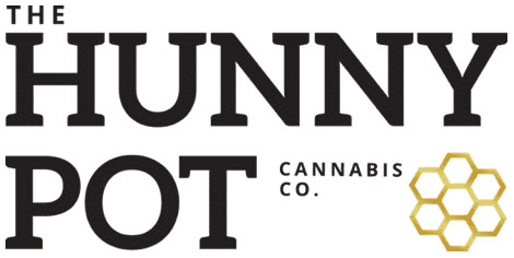 The Hunny Pot Cannabis Co. Burlington Logo